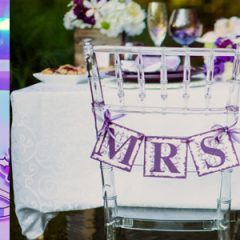 Wedding Colour Schemes: Shades of Purple